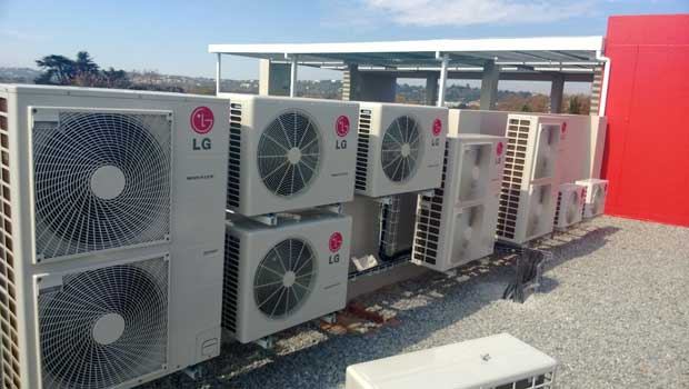 lg rooftop package airconditioners
