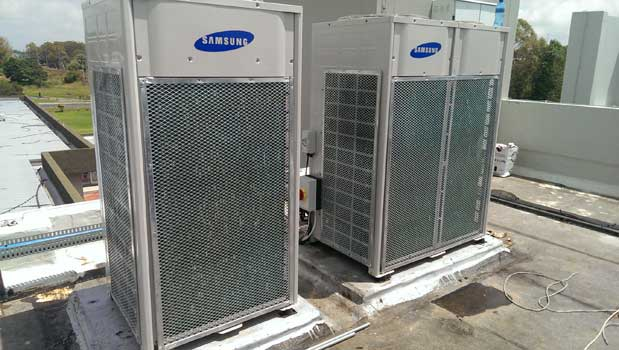 samsung rooftop airconditioners